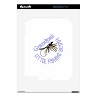 Little Fishing Buddy Decal For iPad 2