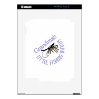 Little Fishing Buddy iPad 2 Decals