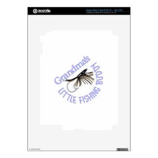 Little Fishing Buddy iPad 3 Decal