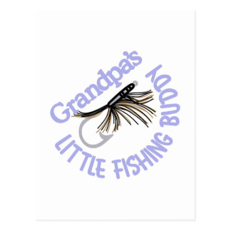 Little Fishing Buddy Postcard