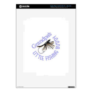 Little Fishing Buddy Skin For iPad 3