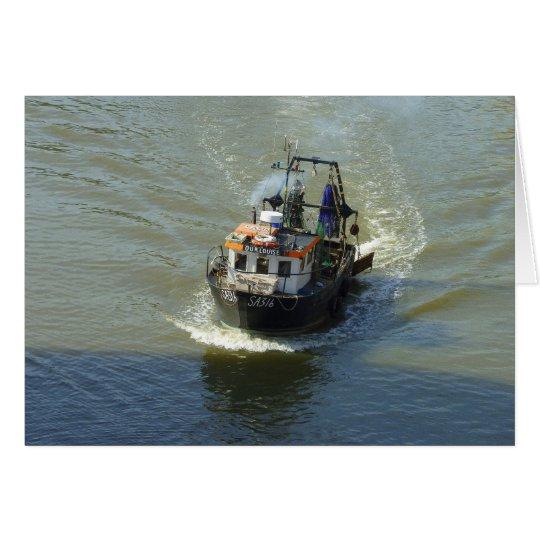 Little Fishing Trawler Card