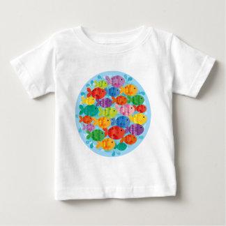 Little Fishy Friends Baby T-Shirt