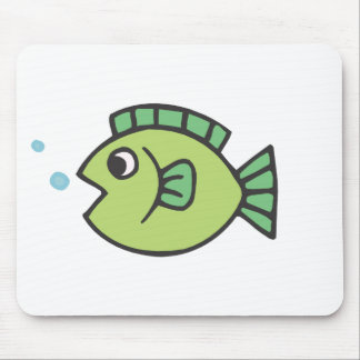 Little Fishy Mouse Pad