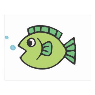 Little Fishy Post Card