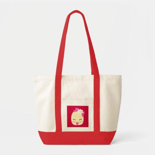 Little Flo cherry red handbag