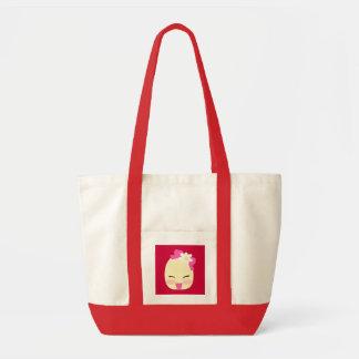 Little Flo cherry red handbag Tote Bag