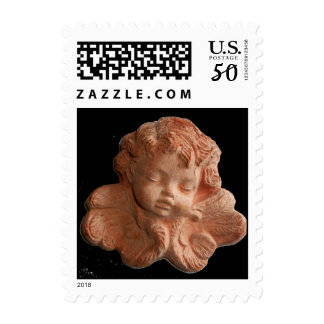 LITTLE FLORENTINE ANGEL Black Postage
