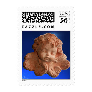 LITTLE FLORENTINE ANGEL .blue Postage