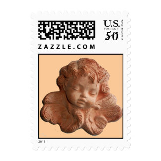 LITTLE FLORENTINE ANGEL Pink Postage