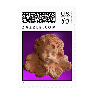 LITTLE FLORENTINE ANGEL Purple Postage