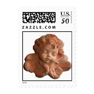 LITTLE FLORENTINE ANGEL White Postage