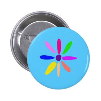 Little Flower 2 Inch Round Button