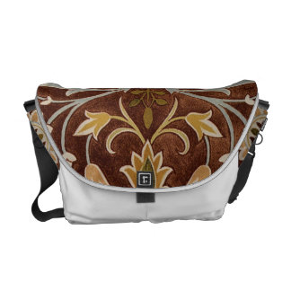Little Flower by William Morris Courier Bags