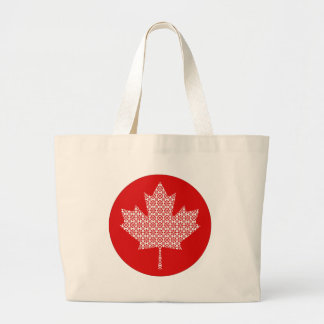 Little Flower Maple Leaf Canvas Bags