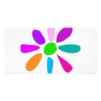 Little Flower Photo Card