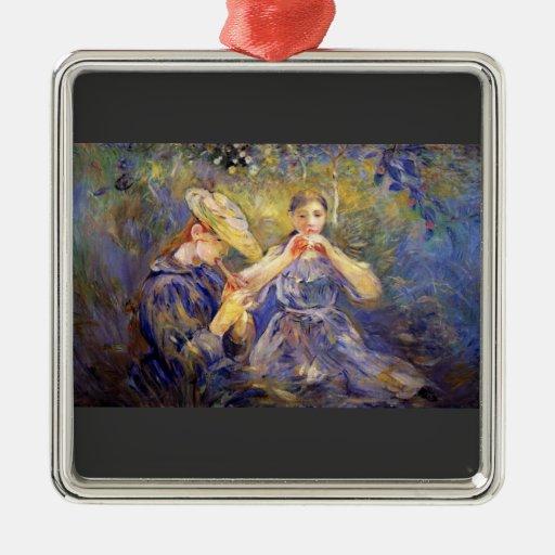 Little Flute players by Berthe Morisot Ornaments