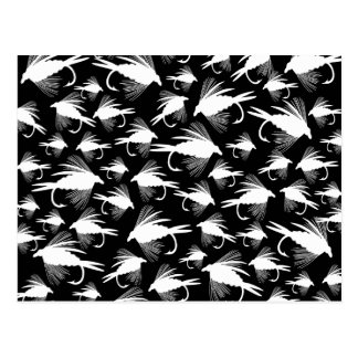 Little Fly Fishing Lures Postcard