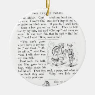 Little Folks Ornament