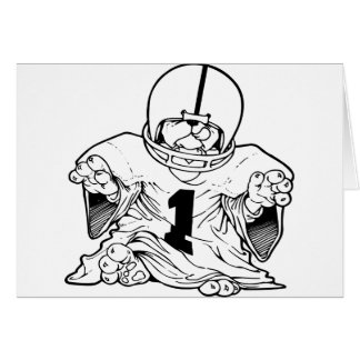 Little Football Dude Card
