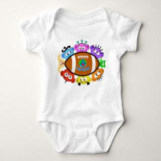 Little FootBall Fan a la Planet Peek-A-Boo Style Baby Bodysuit