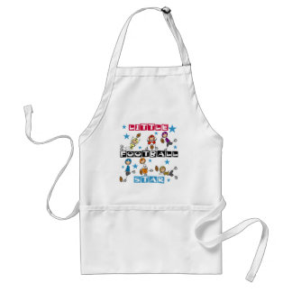 Little Football Star Tshirts and Gifts Adult Apron