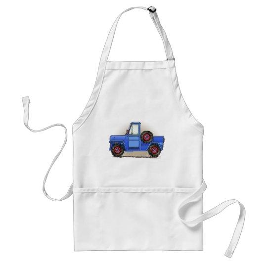 Little Four Wheel Pickup Truck Adult Apron