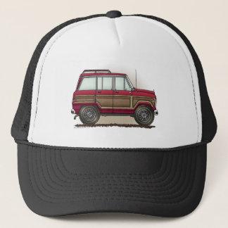Little Four Wheel Station Wagon Trucker Hat