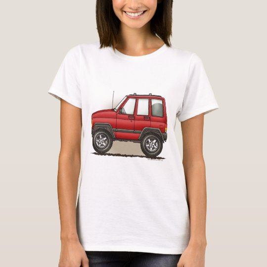 Little Four Wheel SUV Car T-Shirt
