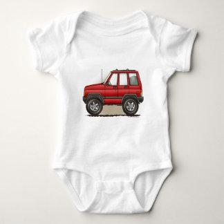 Little Four Wheel SUV Car Tee Shirt