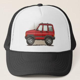 Little Four Wheel SUV Car Trucker Hat