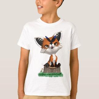 Little Fox And Butterfly T Shirt For Children