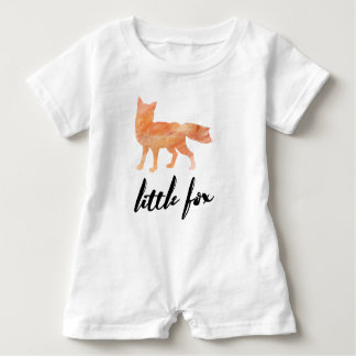 Little Fox Baby Romper