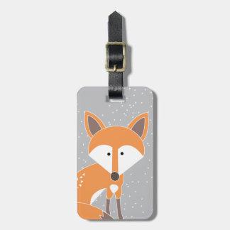 Little Fox Bag Tag