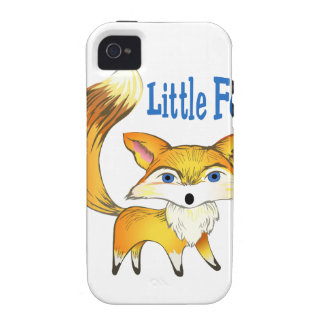 LITTLE FOX VIBE iPhone 4 COVERS