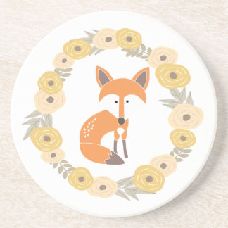 Little Fox Drink Coaster