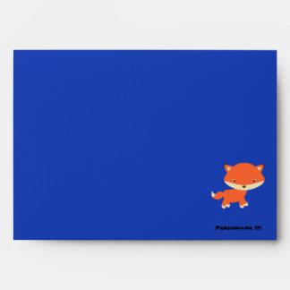 Little fox envelope