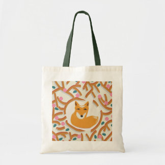 Little fox in a forest / Bag