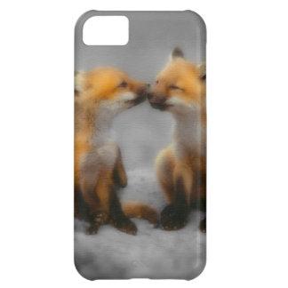 Little Fox Love iPhone 5C Cases