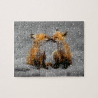 Little Fox Love Jigsaw Puzzle