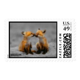 Little Fox Love Postage