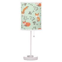 Little Fox Pattern Lamp