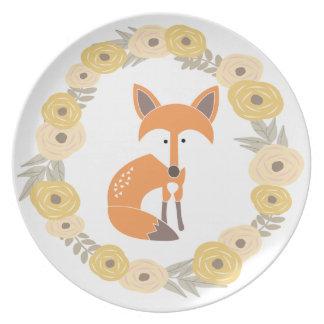 Little Fox Plate