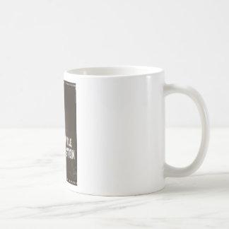 LITTLE FRANKENSTEIN CLASSIC WHITE COFFEE MUG