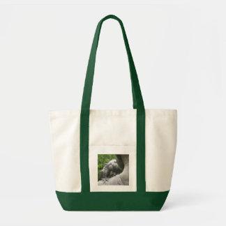 Little Friend (color) Tote Tote Bags