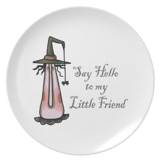 Little Friend Party Plates