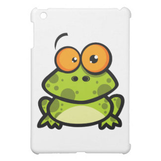Little Frog Cartoon Character Cover For The iPad Mini