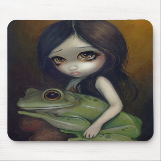 """Little Frog Girl"" Mousepad"