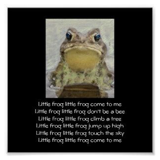 Little Frog Posters