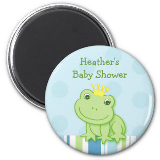 Little Frog Prince Baby Shower Favor Magnets